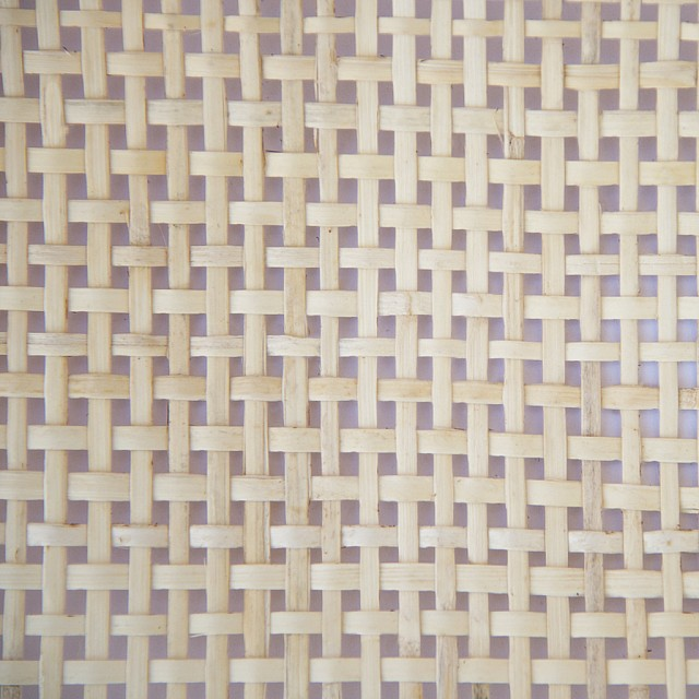 SQUARE HOLE WEBBING RATTAN / 90